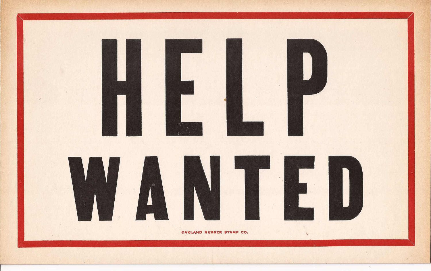 antique help wanted sign - Google Search