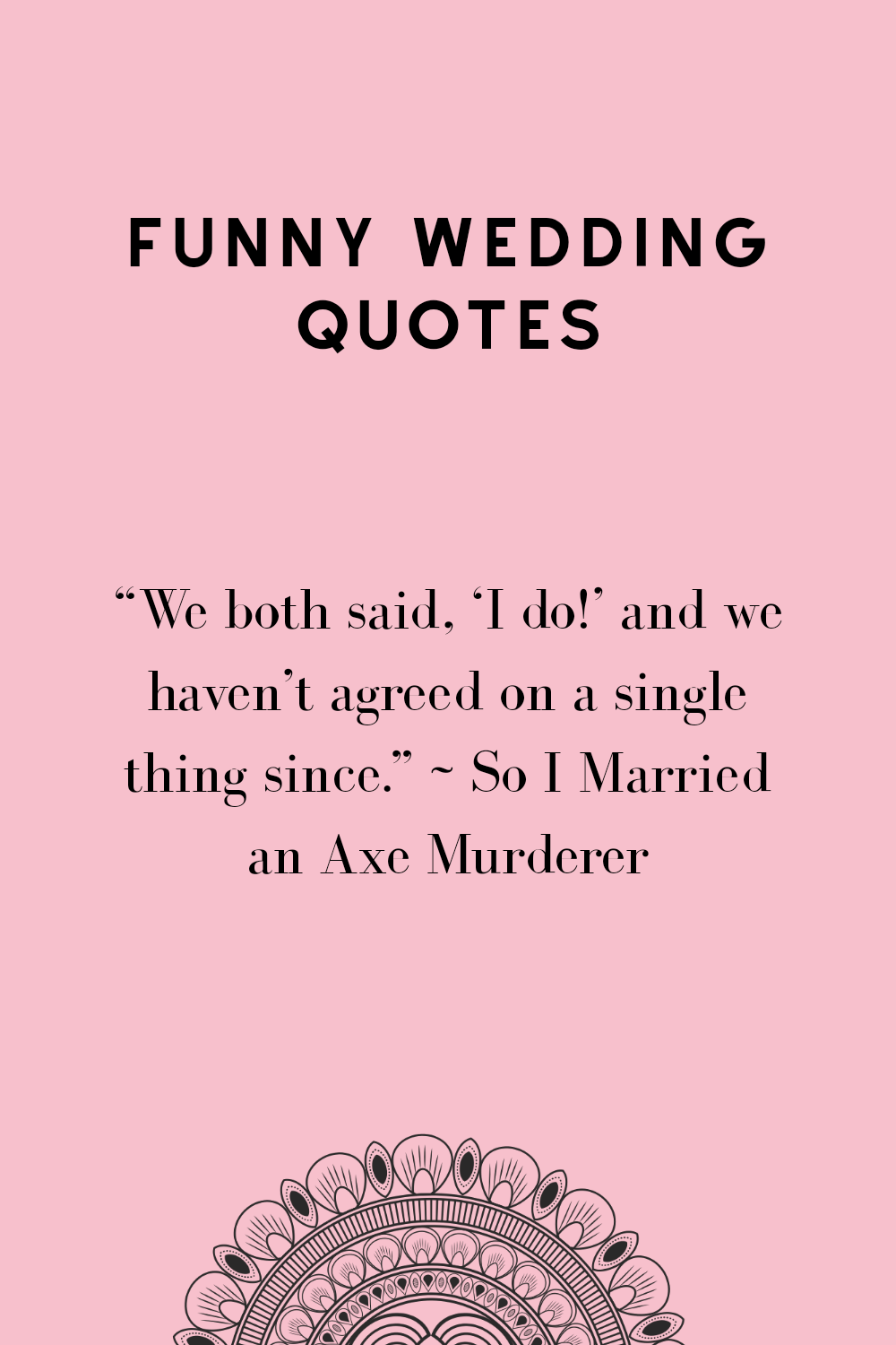 These 52 Funny Wedding quotes are brilliant for speeches
