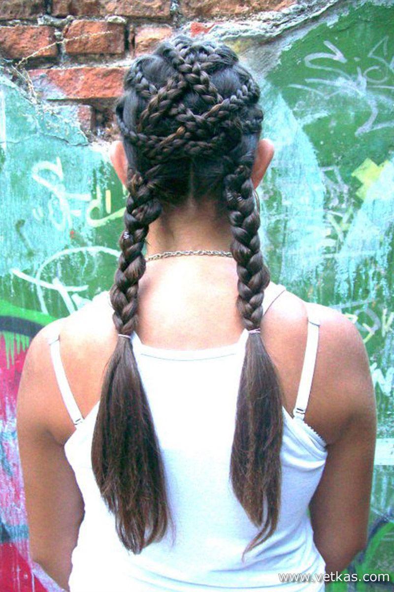 Прически Цветоплети hairstyles pinterest bulgarian