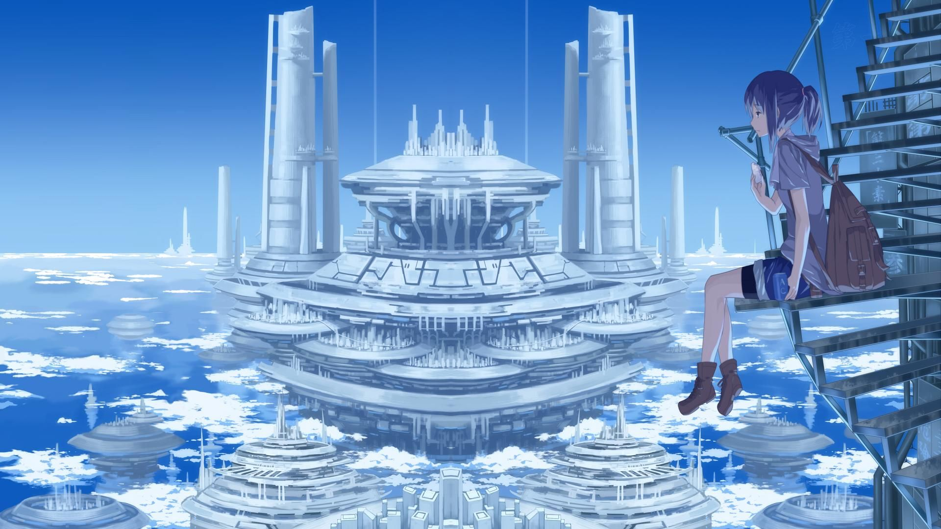 Pin By Phantomyuki On Old Anime Section Anime Scenery Anime Backgrounds Wallpapers Anime Scenery Wallpaper