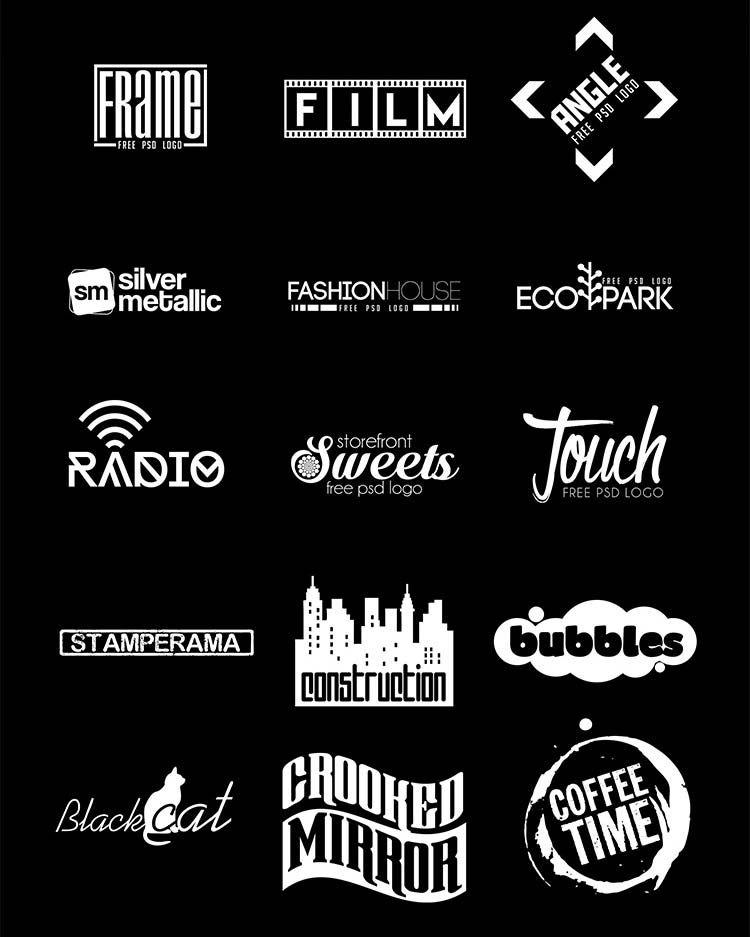 Free Minimal Logos Psd Free Logo Templates Free Logo Psd Logo Design Free Templates