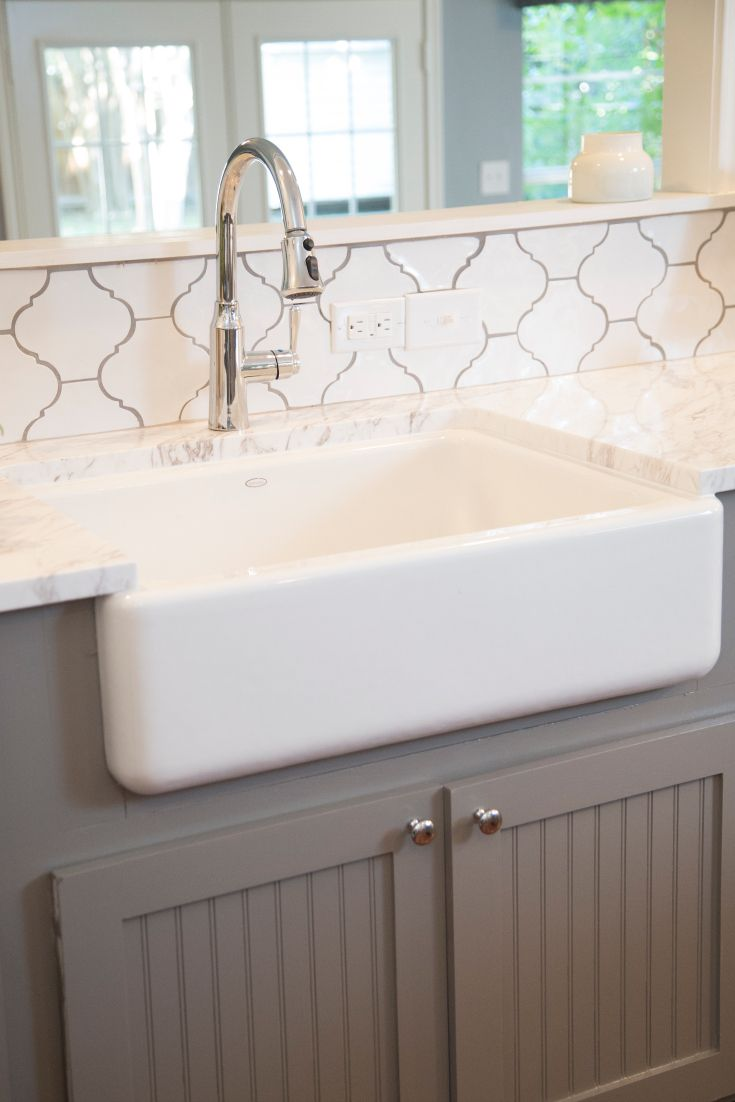 Best As Seen On Hgtv S Fixer Upper White Farmhouse Sink 640 x 480