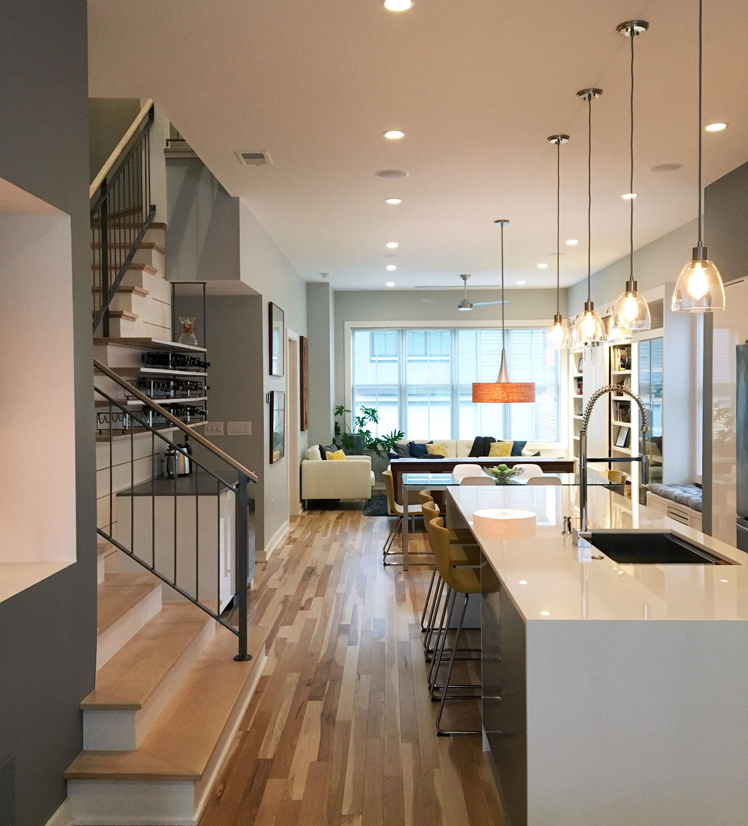 A Pittsburgh Home That S Like Vacation Every Day Modern Small House Design Home Small House Design