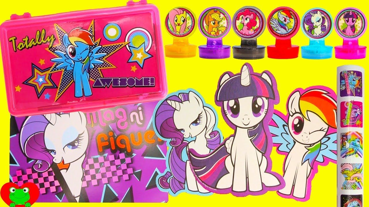my little pony giant color play and create set my little pony