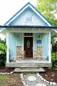 Cute Tiny Little Blue House Manteo Vacation Al Vrbo 333904 1 Br Northern Coast Outer Banks Cottage In Nc The Wright Get Away