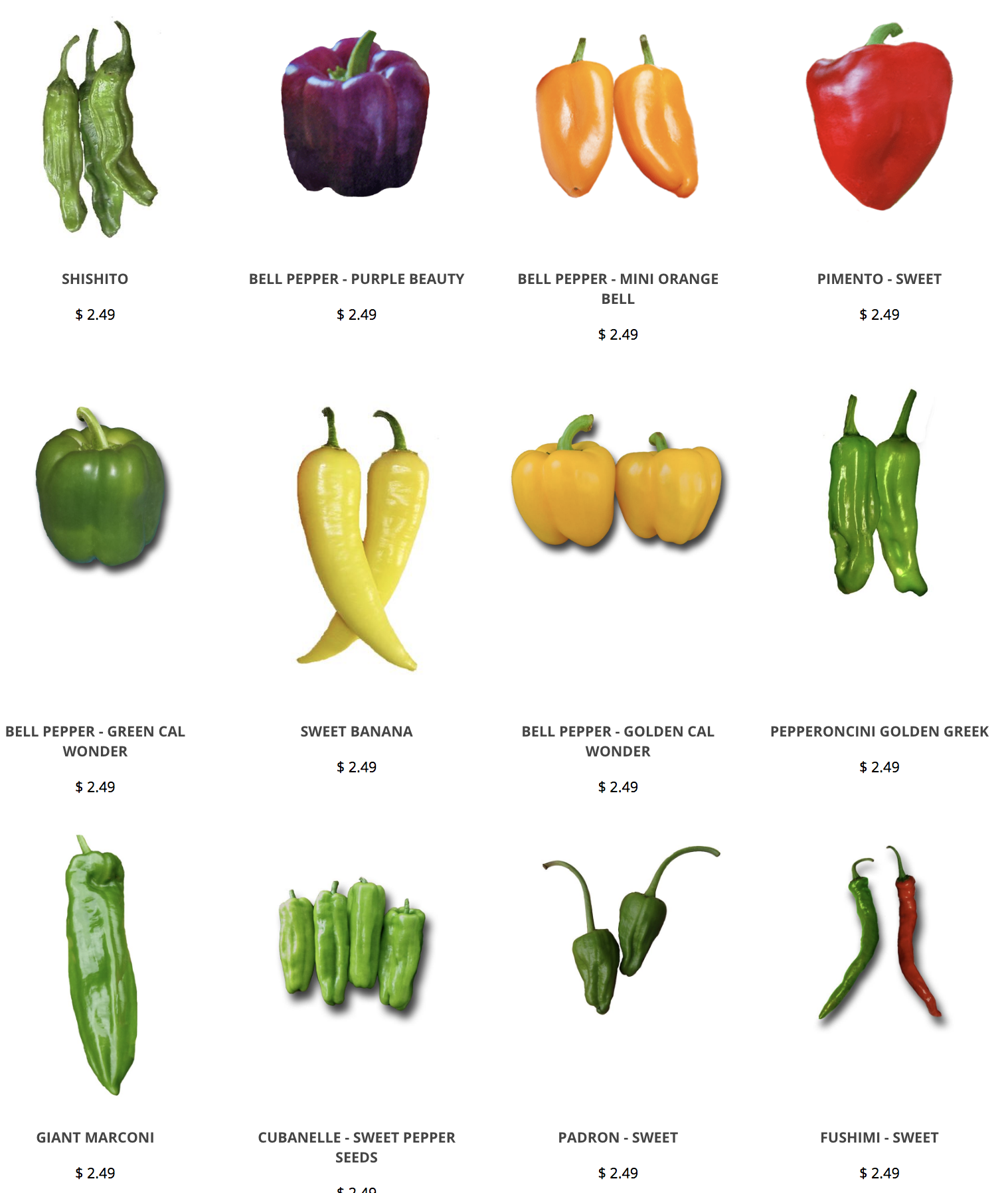 Like Sweet Peppers We Have Lots Of Varieties Of Sweet Chile Peppers That Are Sure To Please Www Sandiaseed Stuffed Sweet Peppers Stuffed Peppers Pepper Seeds