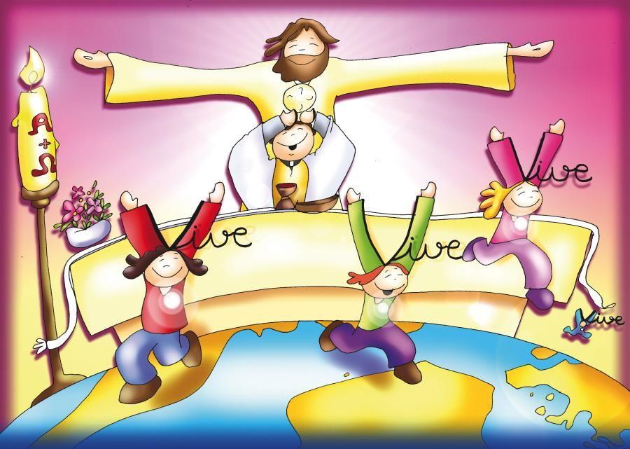 Dibujos De Fano En Color Diocesis De Malaga Portal De La Iglesia Catolica De Domingo De Resureccion Felices Pascuas De Resurreccion Pascua De Resurreccion