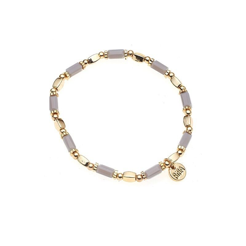 Biba armband grijs | Januari 2015 | Maybelle Jewels and More