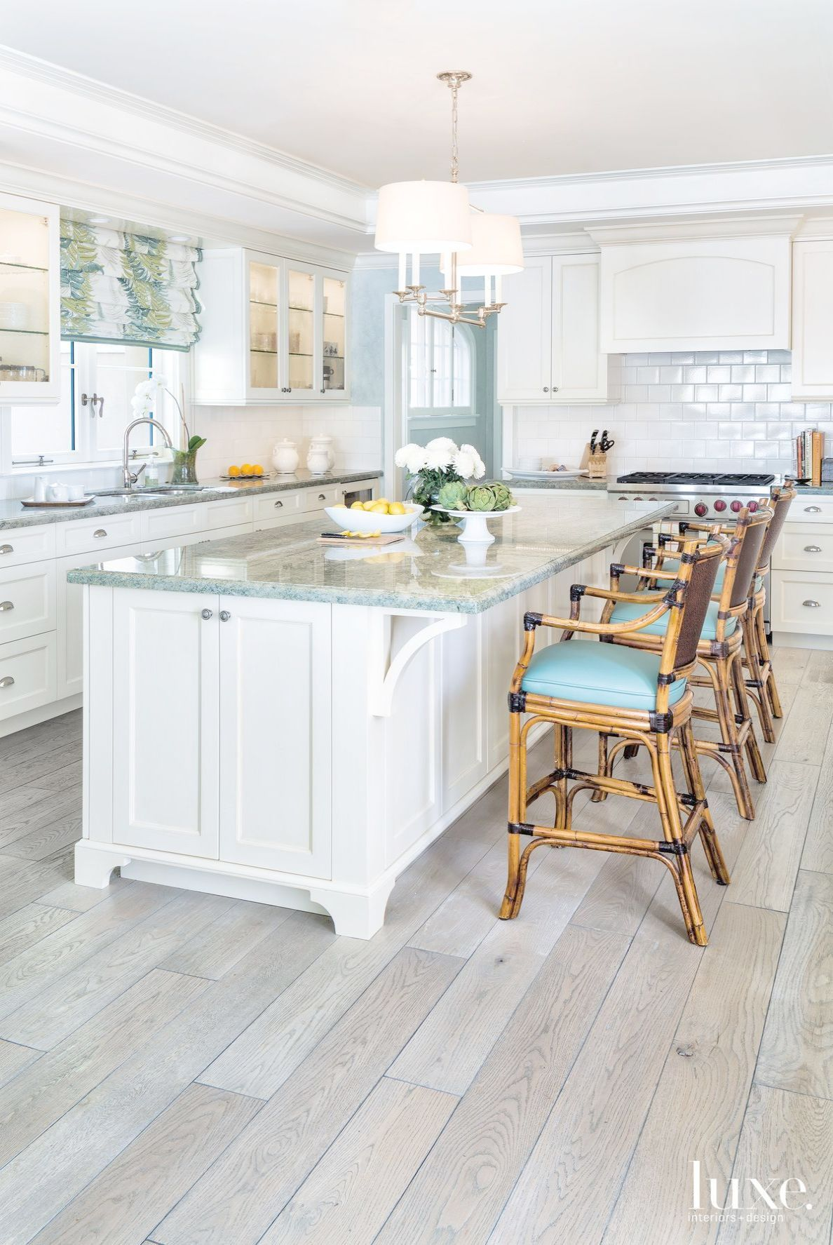 Coastal Kitchen - Allison Paladino Interior Design