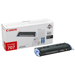 #Canon 707 black toner cartridge 2500pagine  ad Euro 64.10 in #Consumabili #Elettronica