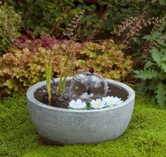 gartenbrunnen springbrunnen ubbink miniteichset iii. Black Bedroom Furniture Sets. Home Design Ideas