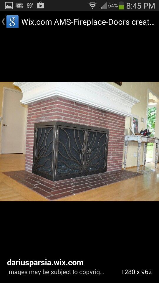 L shaped fireplace- don't love this but can play w the idea | Amy ...