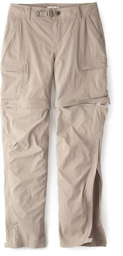 12d30c956d REI Co-op Women's Sahara Convertible Pants Petite Sizes Beachwood 12 Petite