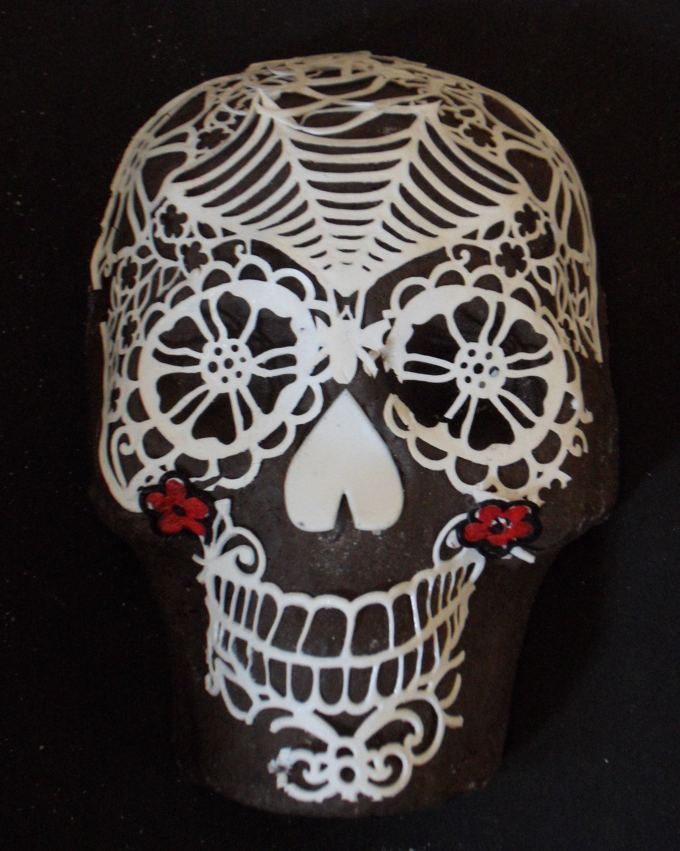 Day of the Dead SugarVeil Skull