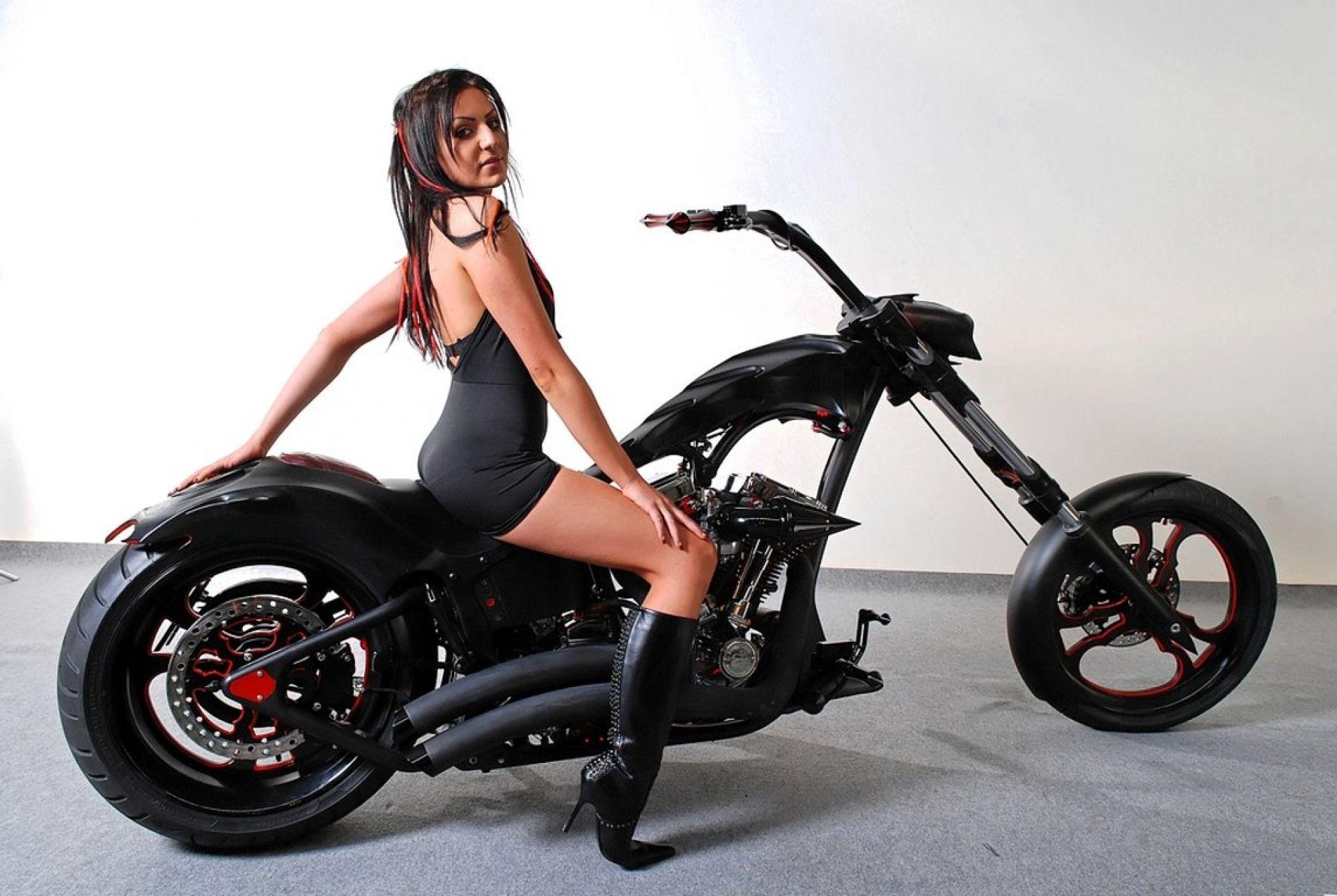 Modelos Harley davidson girl