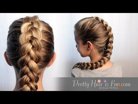 easy braid hair styles how to easy pulled braid tutorial hair 8800