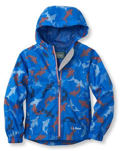a6c78b5b8 Kids' Discovery Rain Jacket, Print: Jackets and Parkas | Free Shipping at  L.L.Bean