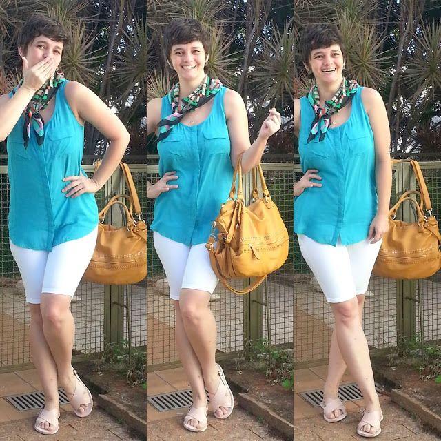 LEILA DINIZ advogada blogueira youtuber: #LOOK muito simples da vida real: bermuda branca +...
