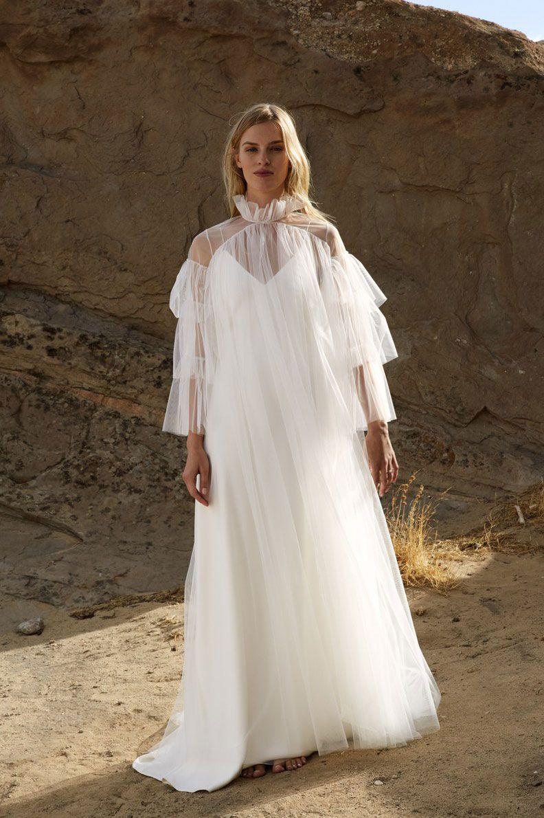Brown wedding dresses  These Are the Biggest Trends from Bridal Fashion Week  Fashion
