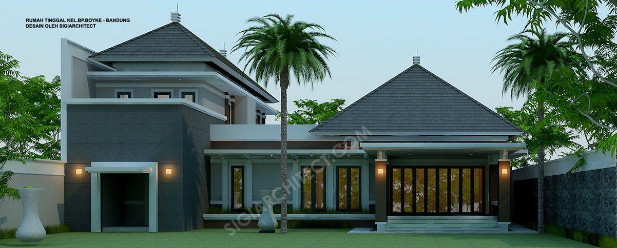Rumah Bandung Tempo Dulu 2 Lantai 4 Elevation In 2018 Pinterest