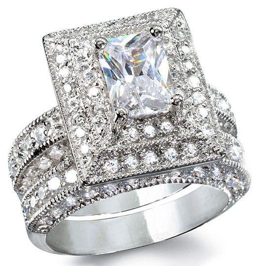 The big rings are my style Haha Wedding ideas Pinterest Big