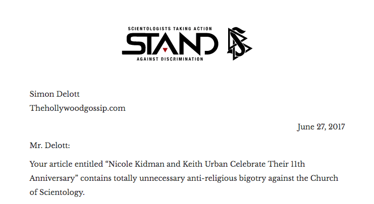 Thehollywoodgossip Part Of Bigoted Religious Hate Campaign Read