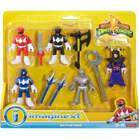 Fisher-Price Imaginext Power Rangers Blue Ranger from Mighty Morphin figure 2.5/""