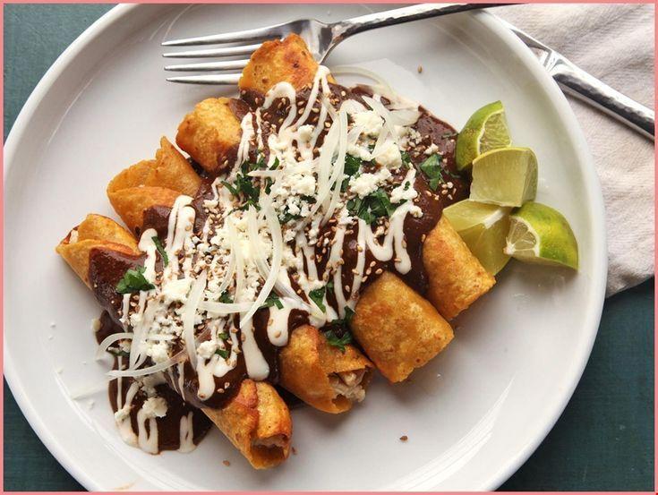 15-Minute Turkey Enchiladas Recipe - -  15-Minute Turkey Enchiladas Recipe - -