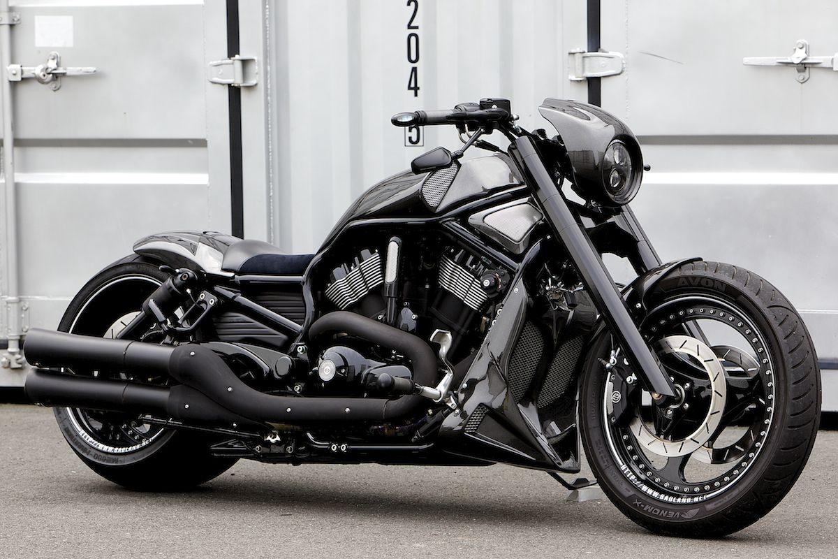 Vrscdx 300 Wide Tire Custom Scorpio Bad Land Harleynightrod