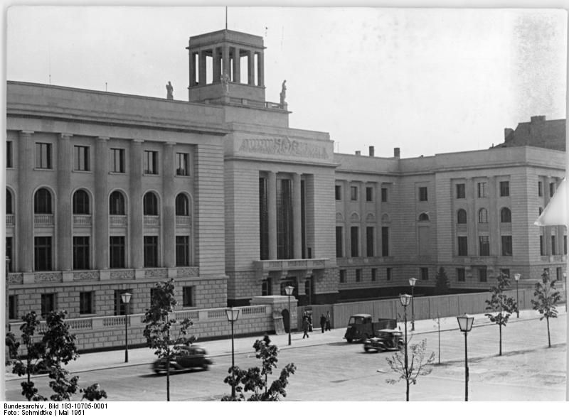 1951 Botschaft der UdSSR Unter den Linden Berlin