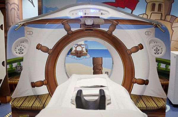 CT Scanner In Einer Kinderklinik In New York   Ein Design Im Piratenstil    #Dekoration