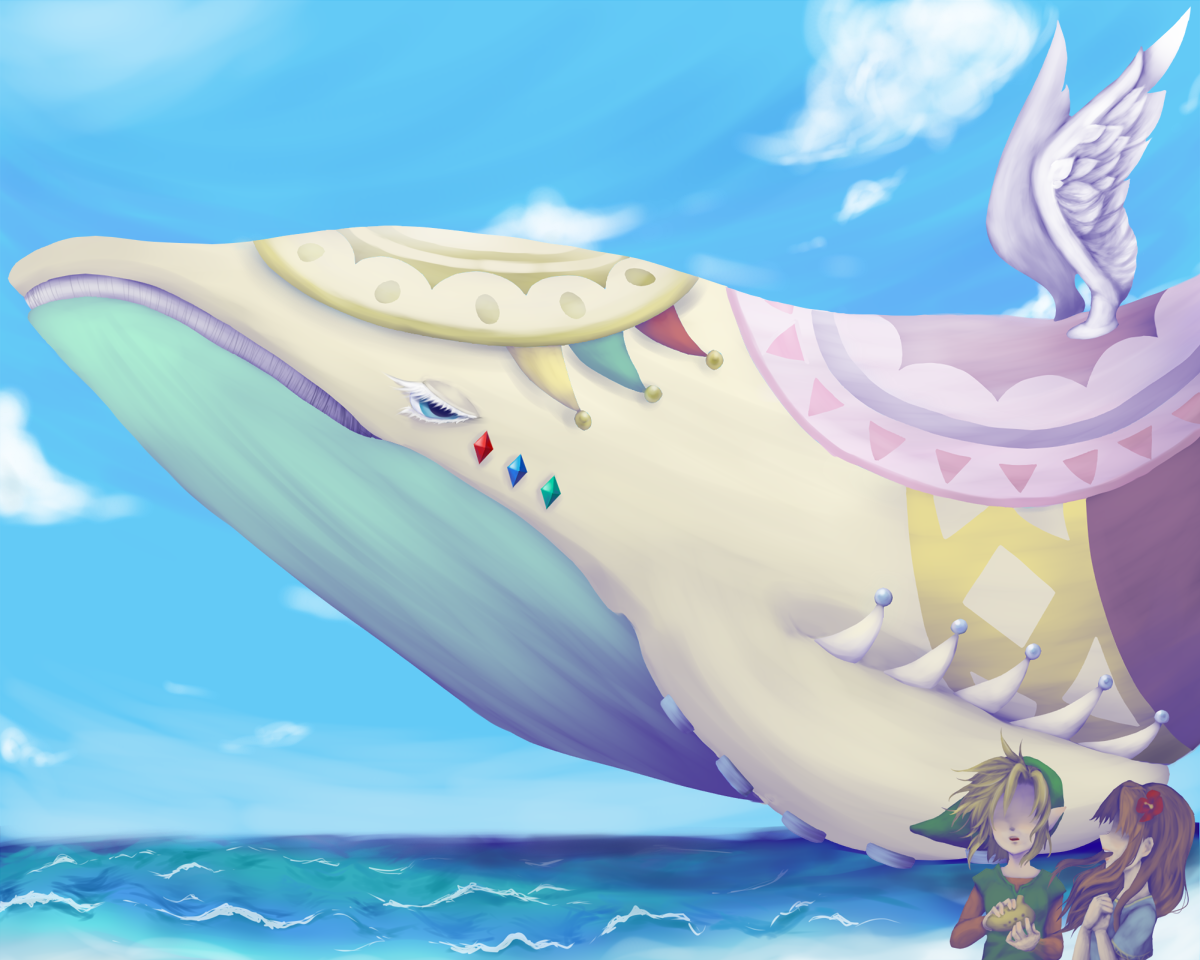The Legend Of Zelda Link S Awakening Link Marin And The