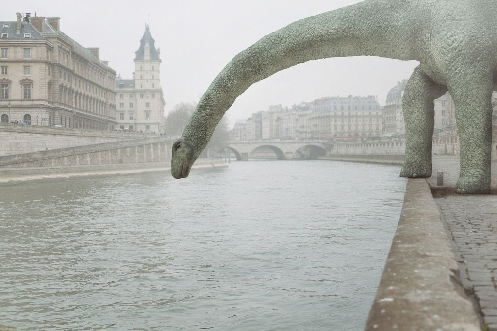 Strange occurrences in Paris on Behance