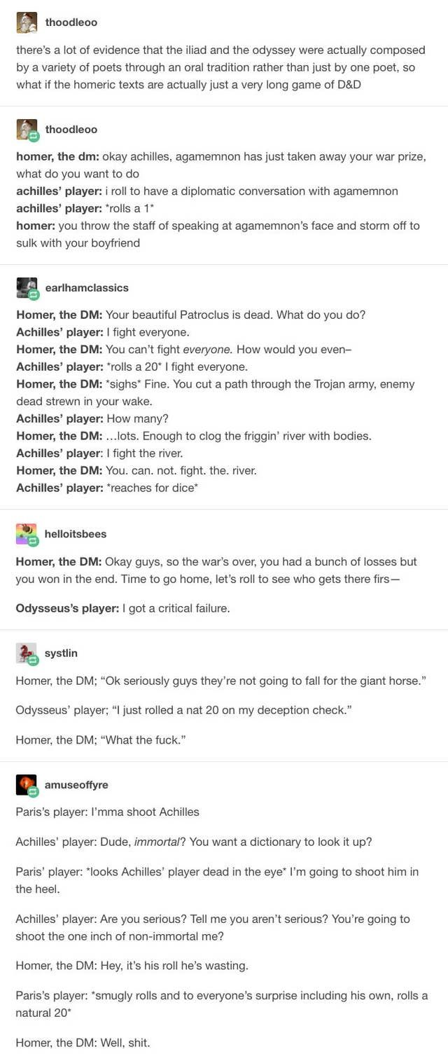 16 Tumblr Posts About Dungeons And Dragons That Rolled A Natural 20