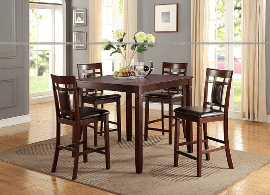 77449428e7 Festa 5 Piece Counter Height Dining Set | Dining Table Sets by Winston  Porter. Ideas for Counter Height Dining Sets in 2018. #furniture #decor # diningroom # ...