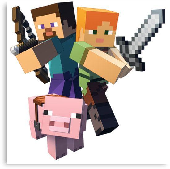 Minecraft Alex Pig Steve S Izobrazheniyami Lego Majnkraft