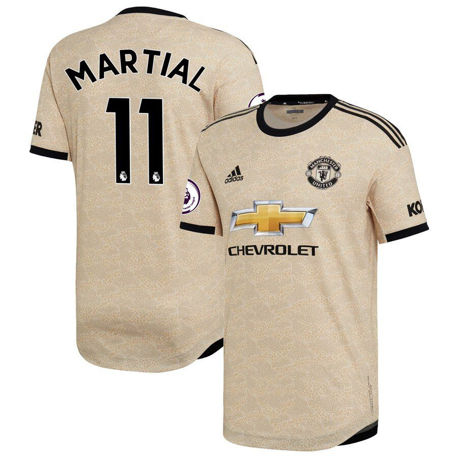 Anthony Martial #11 Manchester United adidas 201920 Away