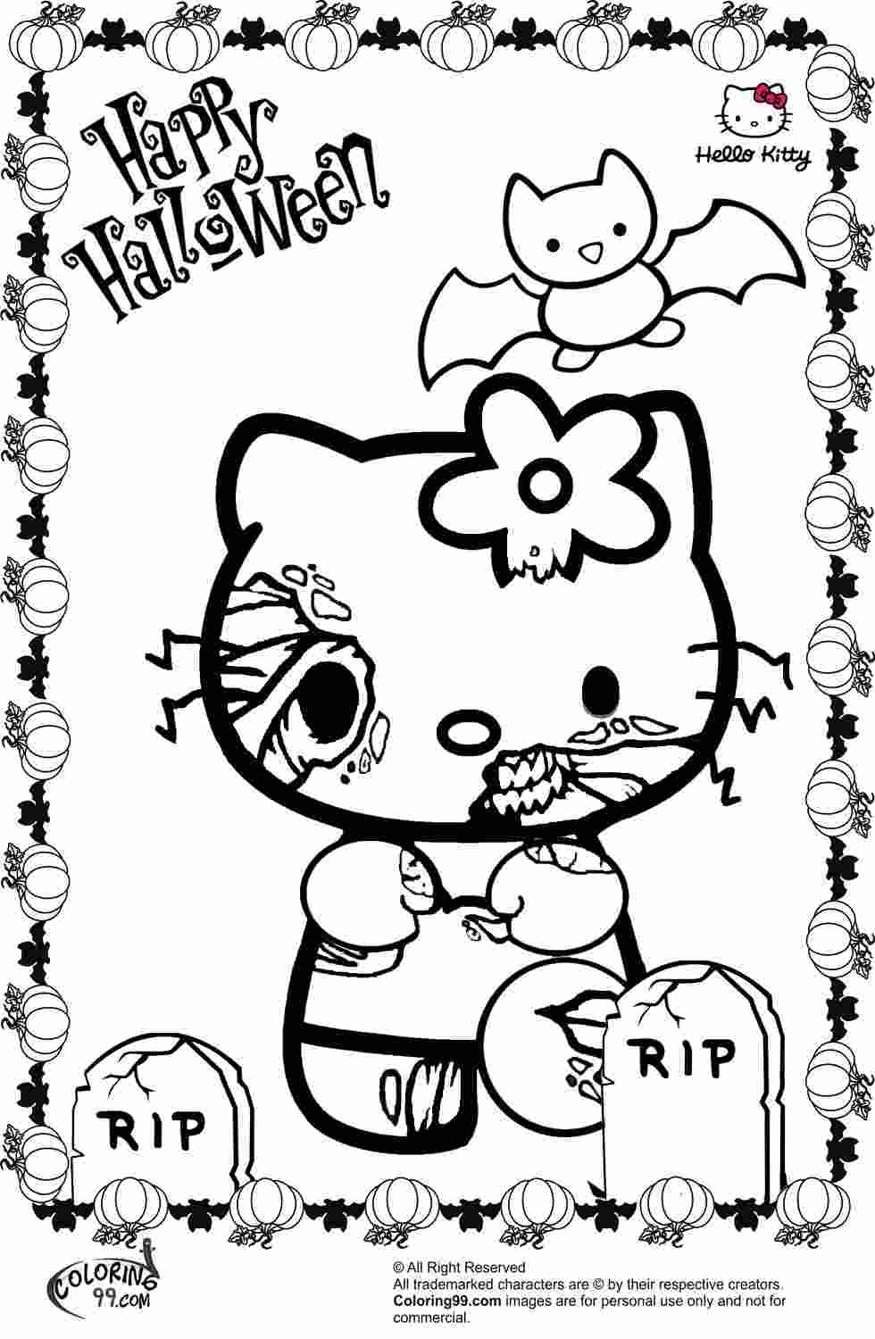Holloween Printable Coloring Pages Hello Kitty Colouring Pages Halloween Coloring Book Hello Kitty Halloween