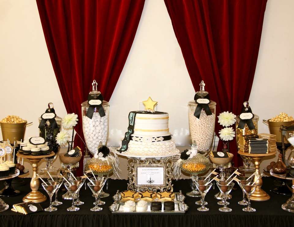 6 Theme Ideas for 18th Birthday Party | GreatEyedeas 2014 |Old Hollywood Themed Birthday Party