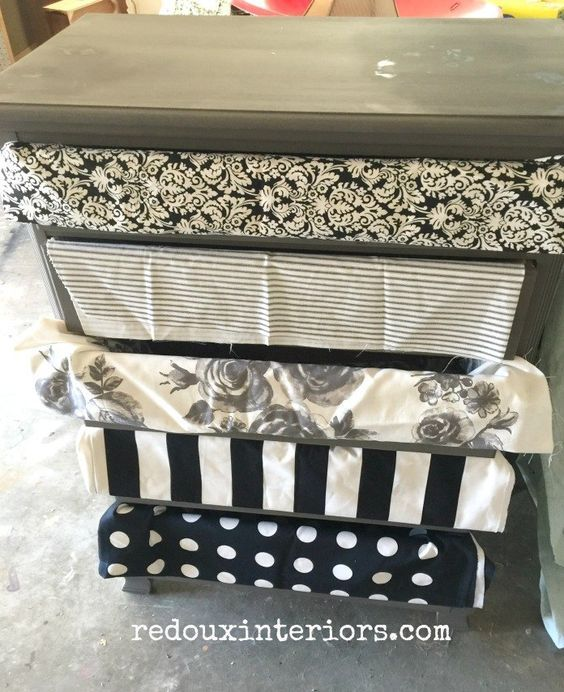 how to decoupage fabric over painted wood decoupage pinterest rh pinterest co uk