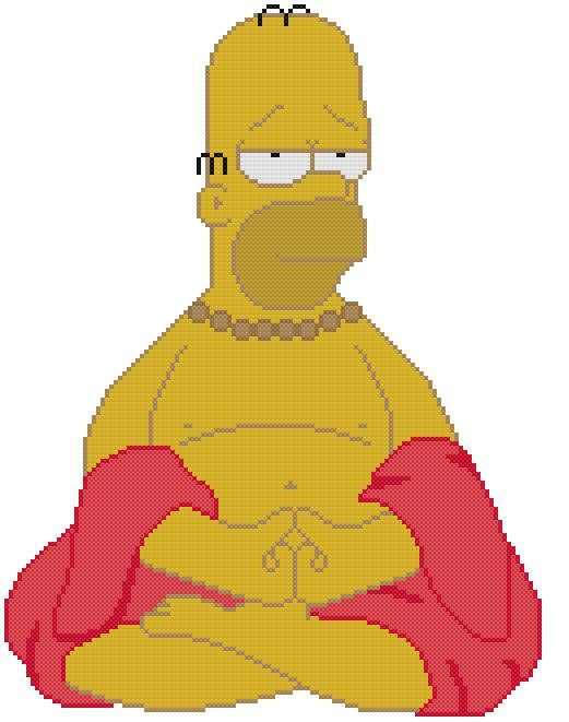 simpson buddhist singles Single i think the values behind the simpsons generally display pluralism and multiculturalism  the basic message of the simpsons is that faithfully married .
