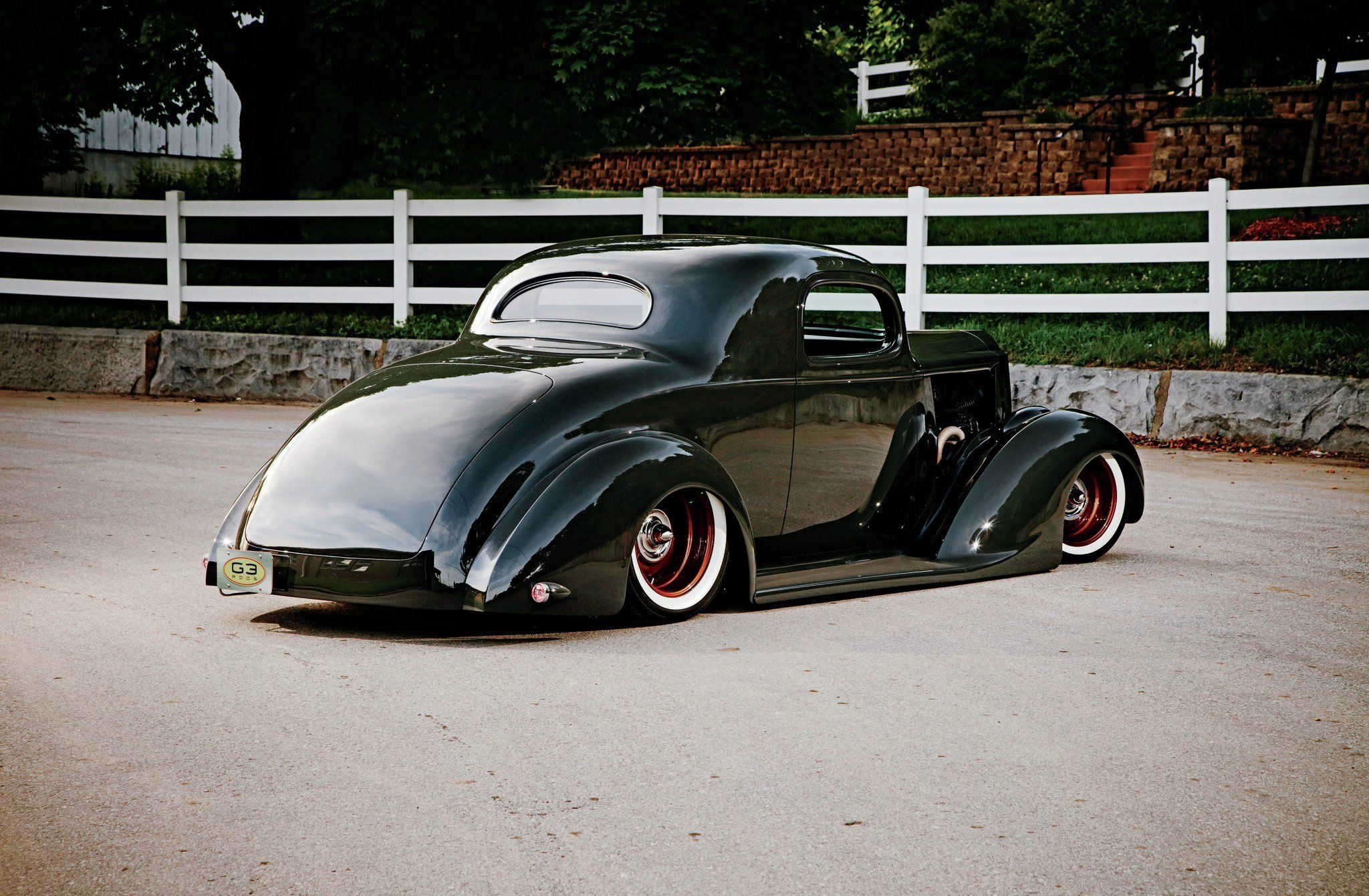 1937 Packard Business Coupe 3 Window Hotrod Hot Rod Old School ...