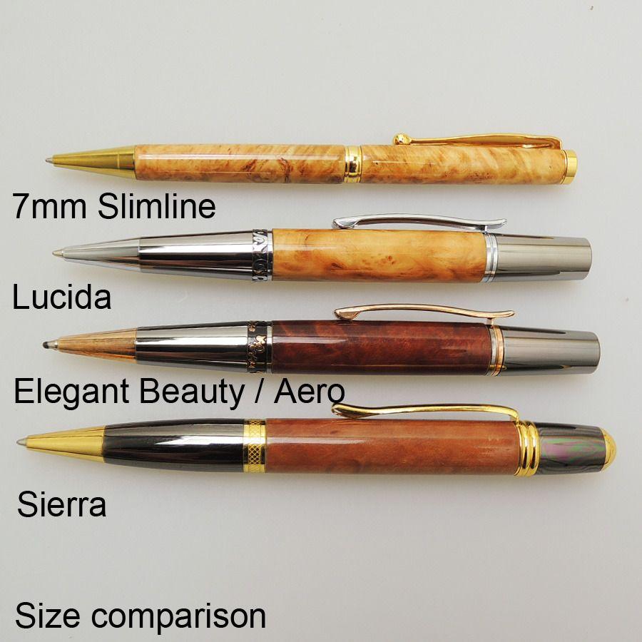 Lucida Pen Kits Timberbits Made In Taiwan Pen Making