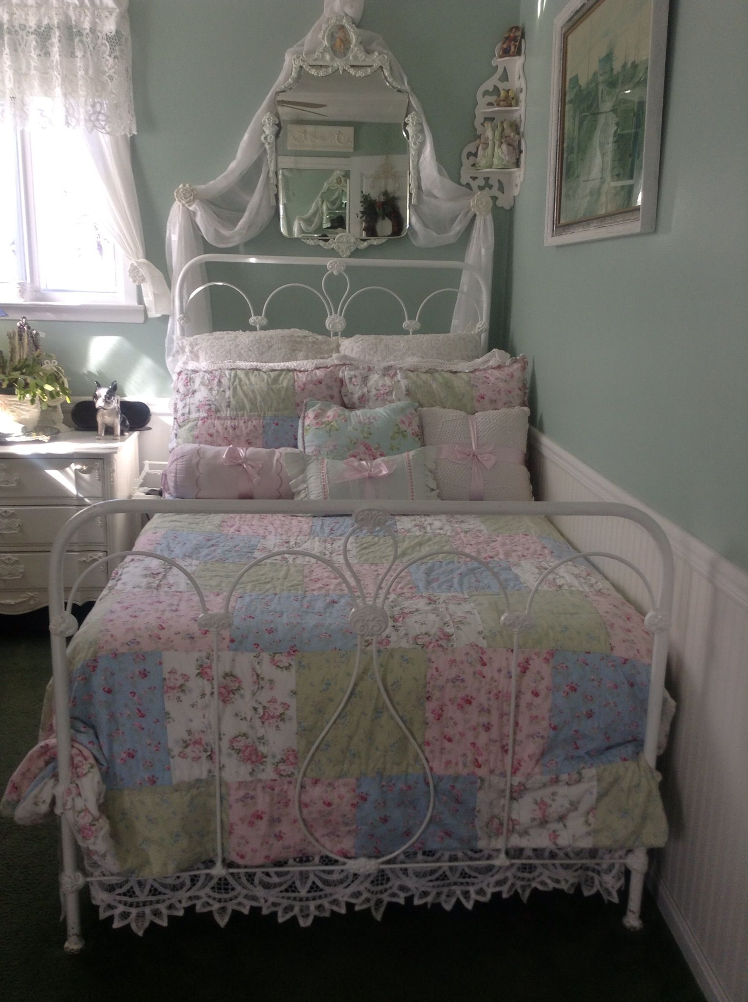 my shabby chic quilt just purchased at target