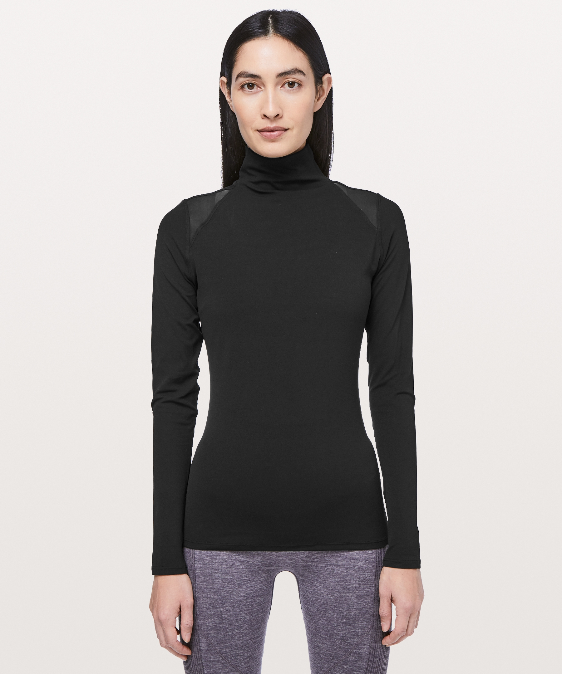 Ethereal mock neck discover the lightness of our buttery