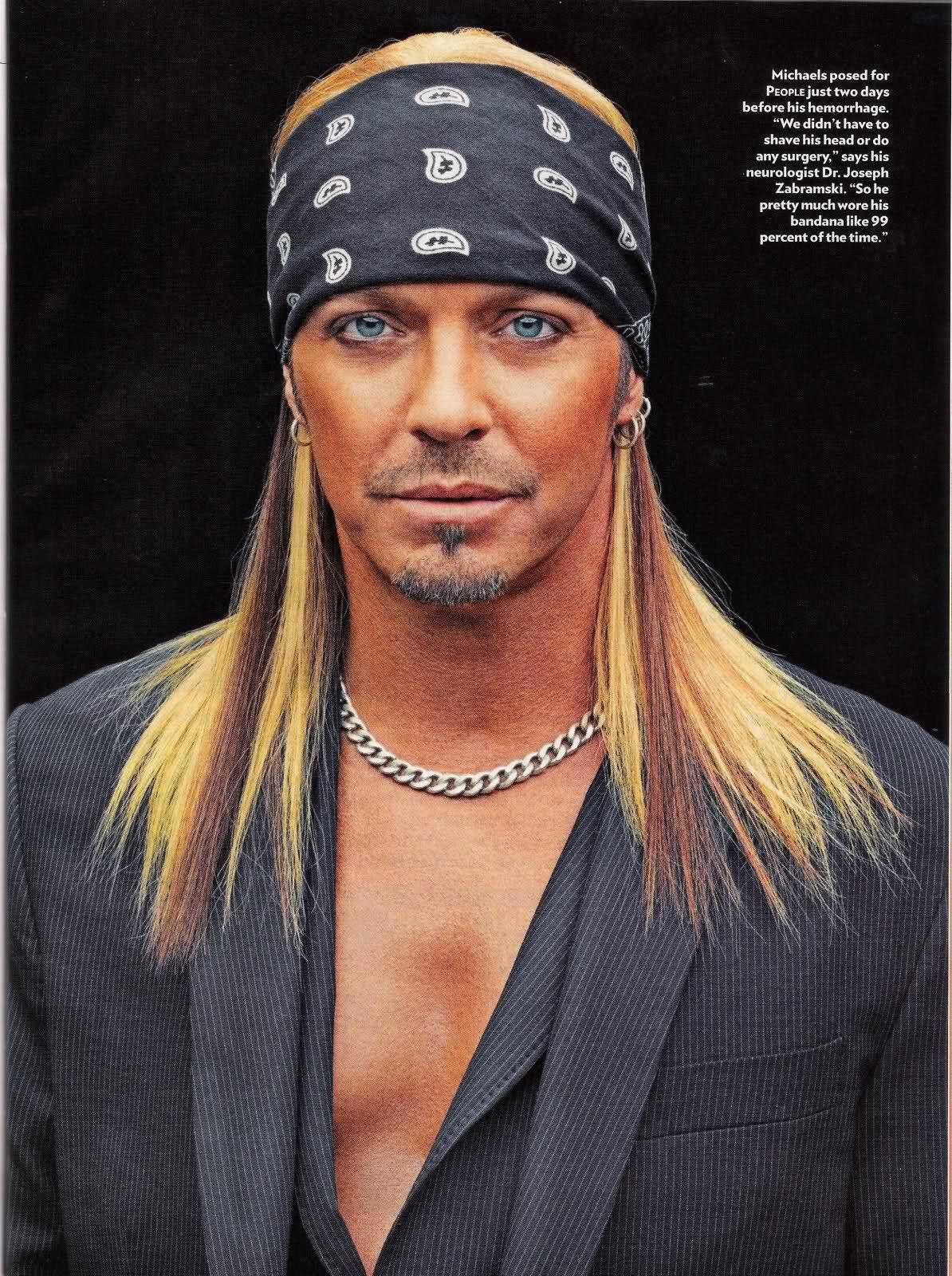 Scans From Bret Michaels Interview With People Bu Pinterest