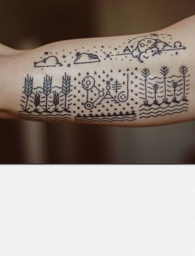 Graphic Design Tattoo : graphic, design, tattoo, Simple, Minimal, Graphic, Design, Style, Tattoo-, Wallace, Trzown.me, Design,, Tattoos,, Tattoo