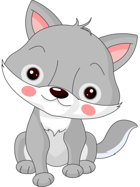 Wolfy | Cartoon wolf, Baby clip art, Wolf images - photo#47