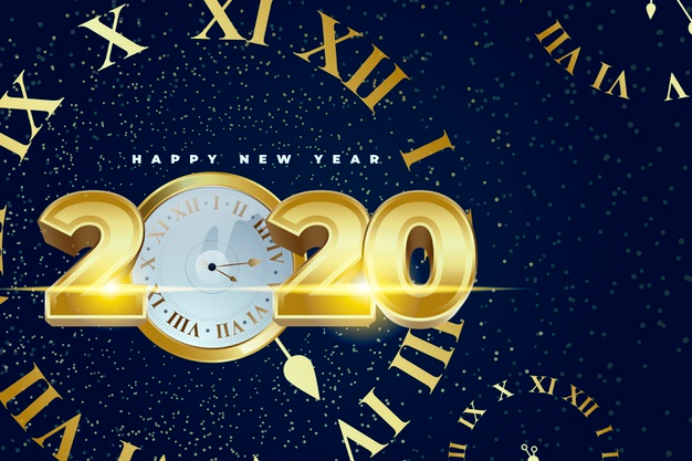 2020 Stock Images & Wallpapers for Happy New Year (With