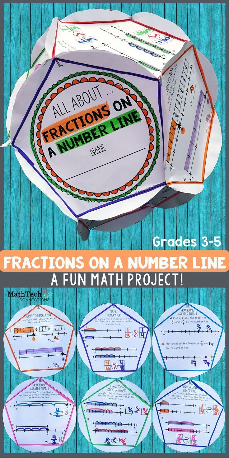 Fractions on a Number Line - Dodecahedron Project | Recording sheets ...